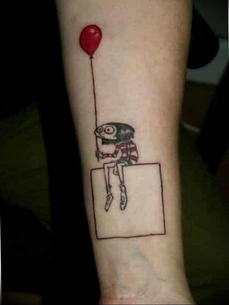 Фото пример смешной тату 25.06.2019 №049 - funny tattoo - tatufoto.com