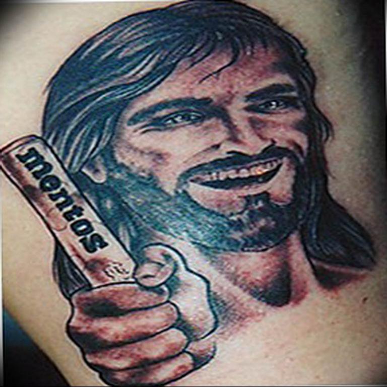 Фото пример смешной тату 25.06.2019 №052 - funny tattoo - tatufoto.com