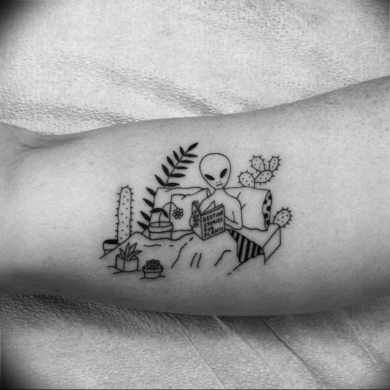 Фото пример смешной тату 25.06.2019 №060 - funny tattoo - tatufoto.com