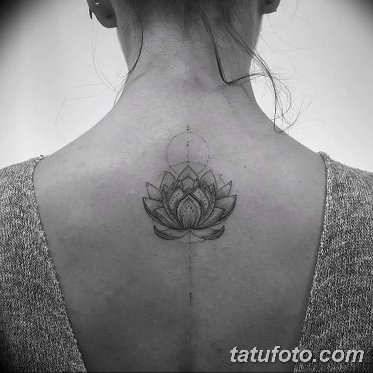 Фото тату белые цветы18.06.2019 №100 - tattoo white flowers - tatufoto.com