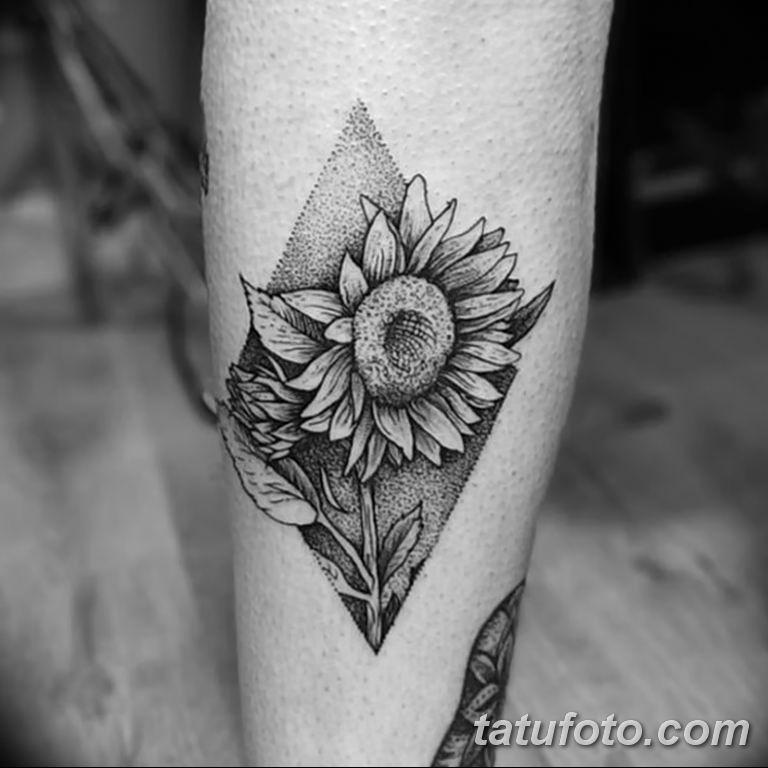 Фото тату белые цветы18.06.2019 №109 - tattoo white flowers - tatufoto.com