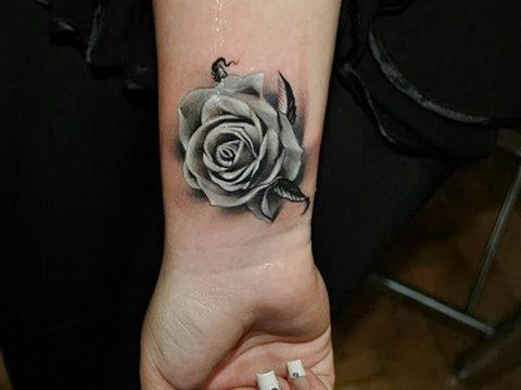 Фото тату белые цветы18.06.2019 №144 - tattoo white flowers - tatufoto.com