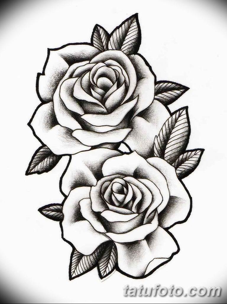 Фото тату белые цветы18.06.2019 №152 - tattoo white flowers - tatufoto.com