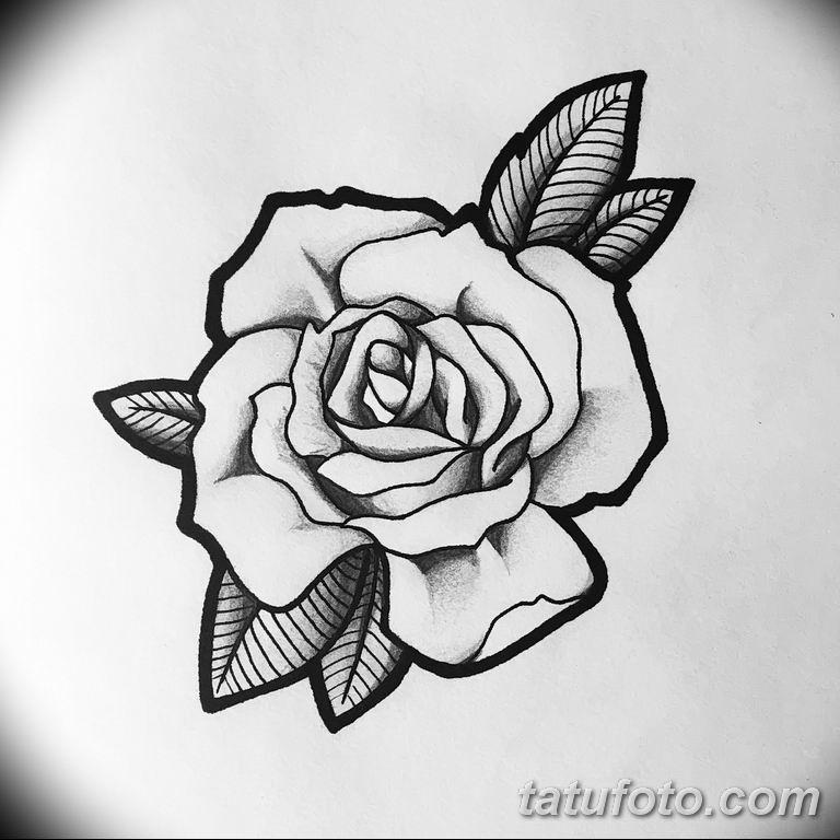 Фото тату белые цветы18.06.2019 №166 - tattoo white flowers - tatufoto.com