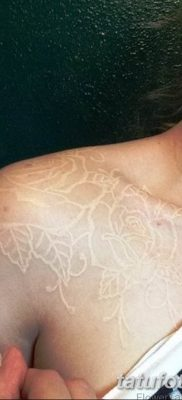 Фото тату белые цветы18.06.2019 №178 – tattoo white flowers – tatufoto.com
