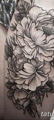 Фото тату белые цветы18.06.2019 №180 – tattoo white flowers – tatufoto.com