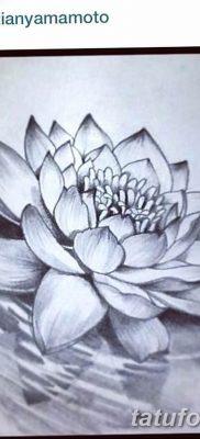 Фото тату белые цветы18.06.2019 №189 – tattoo white flowers – tatufoto.com