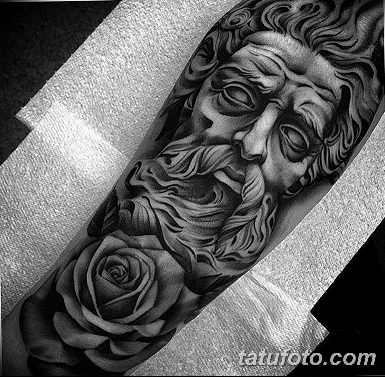 Фото тату белые цветы18.06.2019 №194 - tattoo white flowers - tatufoto.com