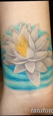 Фото тату белые цветы18.06.2019 №217 – tattoo white flowers – tatufoto.com