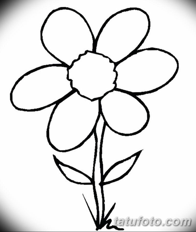 Фото тату белые цветы18.06.2019 №218 - tattoo white flowers - tatufoto.com