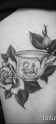 Фото тату белые цветы18.06.2019 №224 – tattoo white flowers – tatufoto.com
