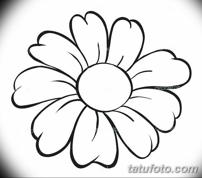 Фото тату белые цветы18.06.2019 №230 - tattoo white flowers - tatufoto.com