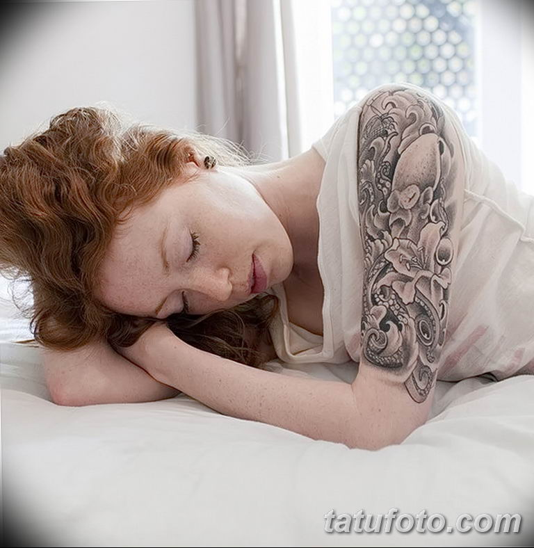 Фото тату белые цветы18.06.2019 №237 - tattoo white flowers - tatufoto.com