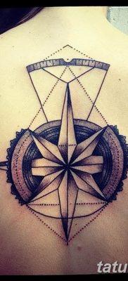 Фото тату восьмиконечная звезда 11.06.2019 №010 – tattoo eight-pointed star – tatufoto.com