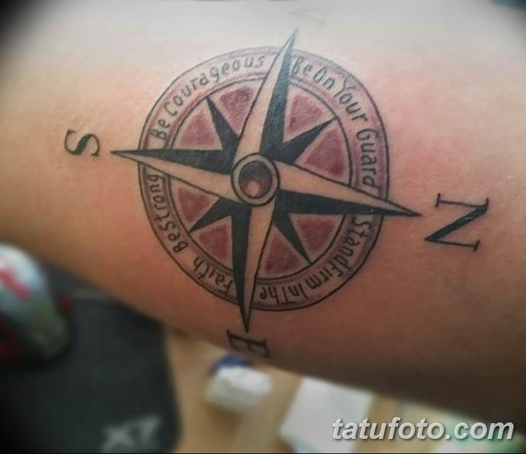 Фото тату восьмиконечная звезда 11.06.2019 №031 - tattoo eight-pointed star - tatufoto.com