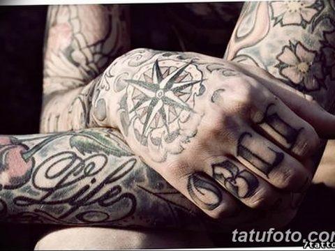 Фото тату восьмиконечная звезда 11.06.2019 №032 - tattoo eight-pointed star - tatufoto.com
