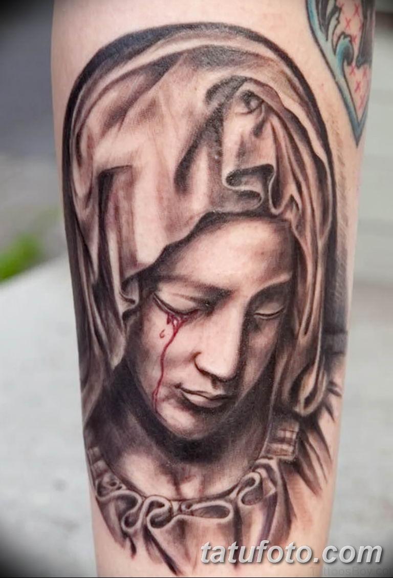 Фото тату икона святого 29.06.2019 №002 - tattoo icon of saint - tatufoto.com