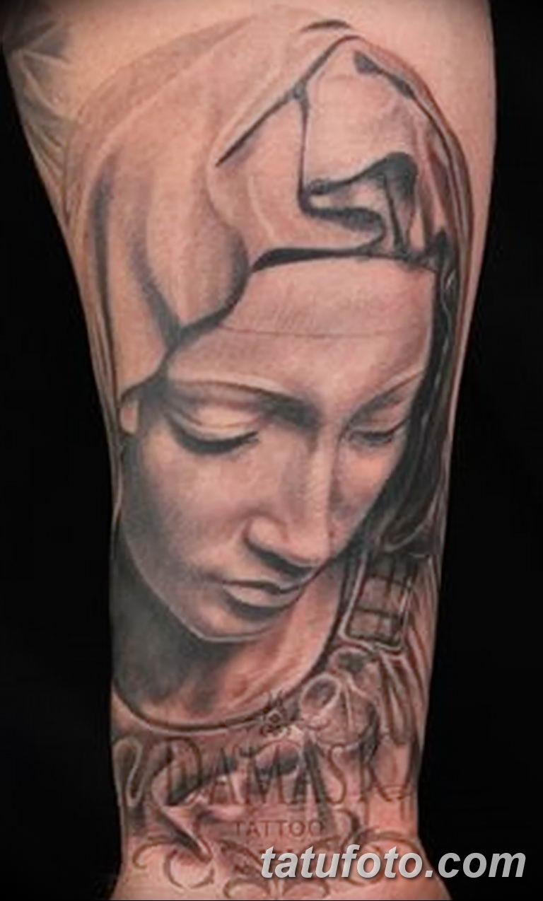 Фото тату икона святого 29.06.2019 №003 - tattoo icon of saint - tatufoto.com