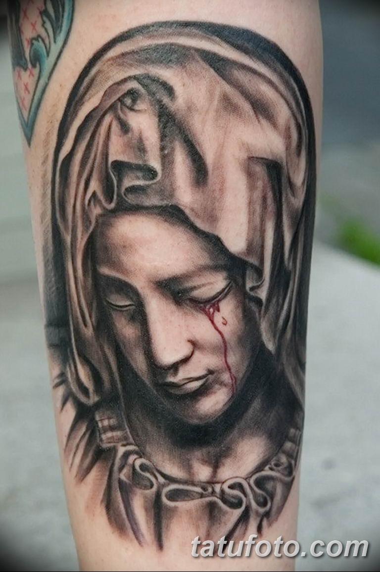 Фото тату икона святого 29.06.2019 №006 - tattoo icon of saint - tatufoto.com
