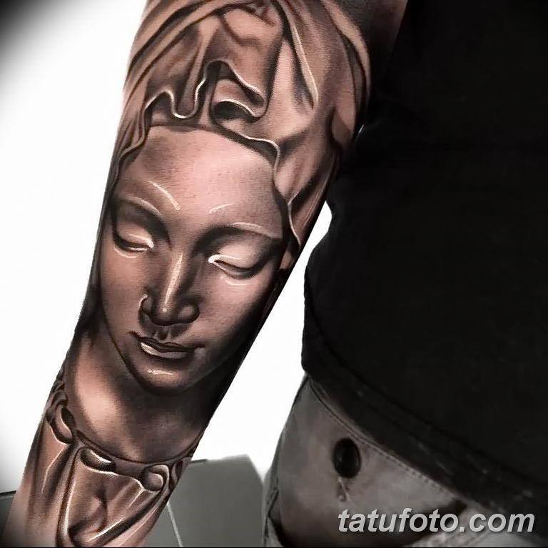 Фото тату икона святого 29.06.2019 №008 - tattoo icon of saint - tatufoto.com