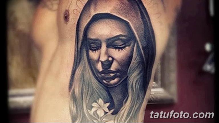 Фото тату икона святого 29.06.2019 №010 - tattoo icon of saint - tatufoto.com