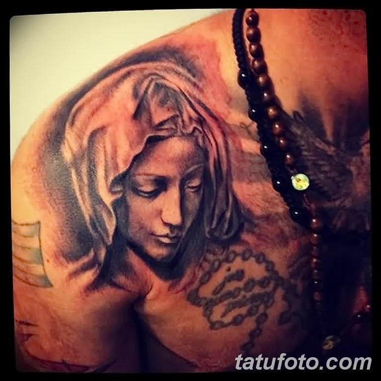 Фото тату икона святого 29.06.2019 №012 - tattoo icon of saint - tatufoto.com