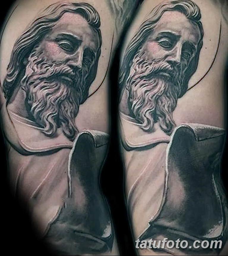 Фото тату икона святого 29.06.2019 №014 - tattoo icon of saint - tatufoto.com