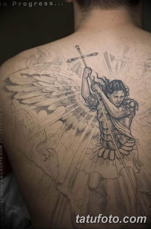 Фото тату икона святого 29.06.2019 №016 - tattoo icon of saint - tatufoto.com