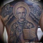 Фото тату икона святого 29.06.2019 №023 - tattoo icon of saint - tatufoto.com