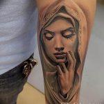 Фото тату икона святого 29.06.2019 №025 - tattoo icon of saint - tatufoto.com