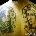 Фото тату икона святого 29.06.2019 №028 - tattoo icon of saint - tatufoto.com