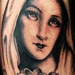 Фото тату икона святого 29.06.2019 №030 - tattoo icon of saint - tatufoto.com