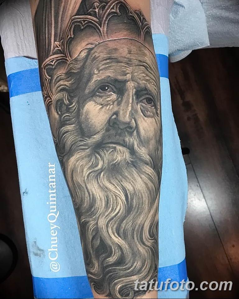 Фото тату икона святого 29.06.2019 №032 - tattoo icon of saint - tatufoto.com