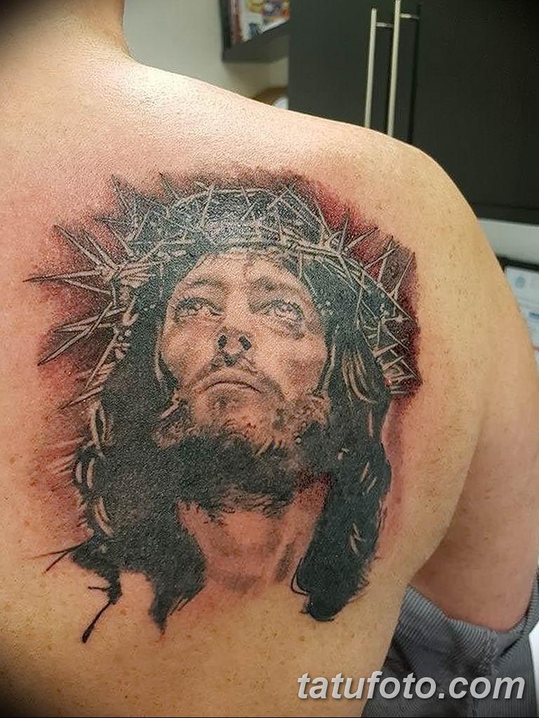 Фото тату икона святого 29.06.2019 №034 - tattoo icon of saint - tatufoto.com