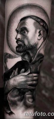 Фото тату икона святого 29.06.2019 №036 – tattoo icon of saint – tatufoto.com