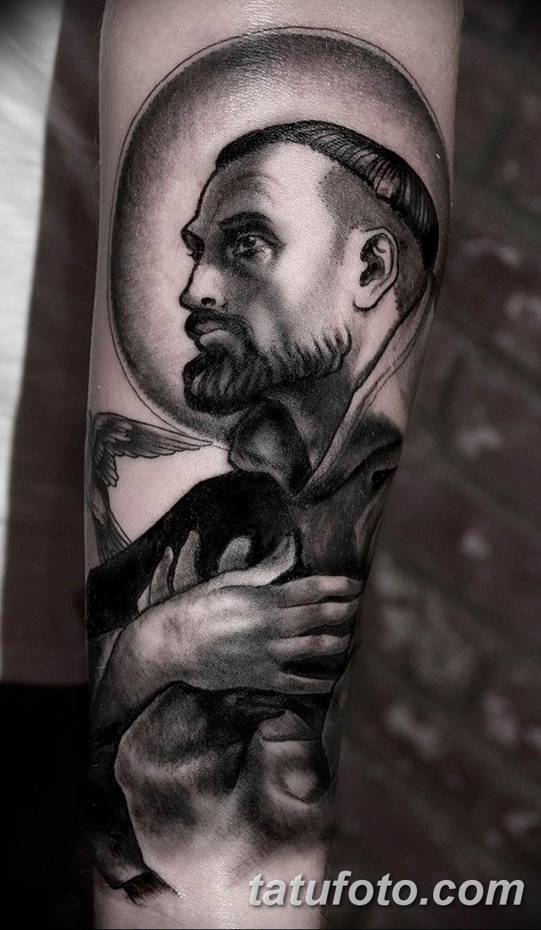 Фото тату икона святого 29.06.2019 №036 - tattoo icon of saint - tatufoto.com