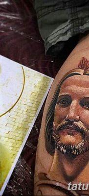 Фото тату икона святого 29.06.2019 №037 – tattoo icon of saint – tatufoto.com