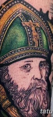 Фото тату икона святого 29.06.2019 №038 – tattoo icon of saint – tatufoto.com