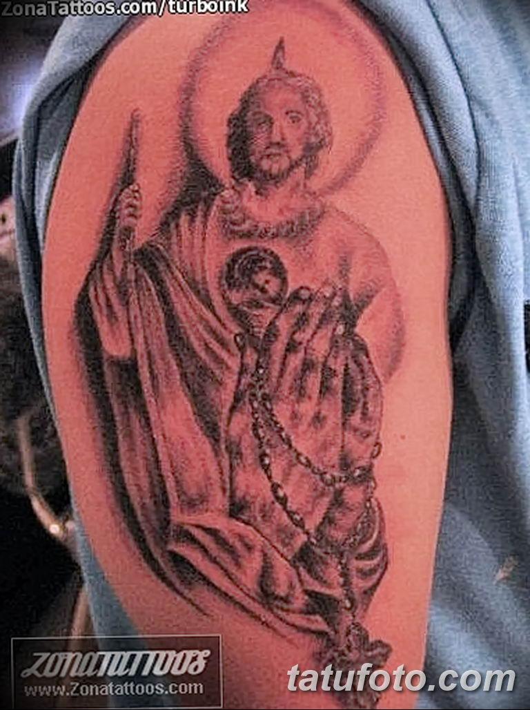 Фото тату икона святого 29.06.2019 №041 - tattoo icon of saint - tatufoto.com