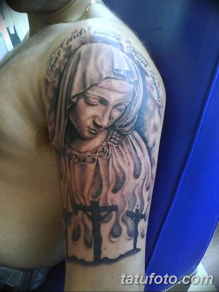 Фото тату икона святого 29.06.2019 №042 - tattoo icon of saint - tatufoto.com