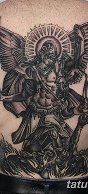 Фото тату икона святого 29.06.2019 №044 – tattoo icon of saint – tatufoto.com
