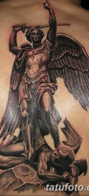 Фото тату икона святого 29.06.2019 №045 – tattoo icon of saint – tatufoto.com