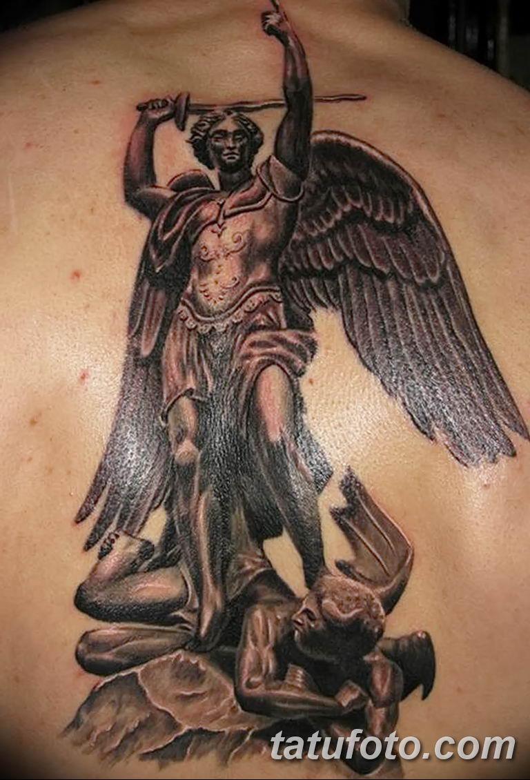 Фото тату икона святого 29.06.2019 №045 - tattoo icon of saint - tatufoto.com