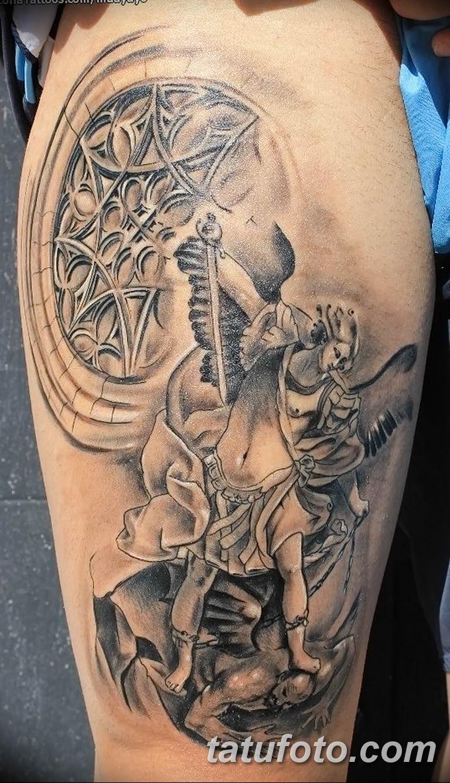 Фото тату икона святого 29.06.2019 №046 - tattoo icon of saint - tatufoto.com