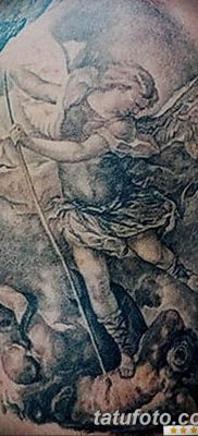 Фото тату икона святого 29.06.2019 №047 – tattoo icon of saint – tatufoto.com