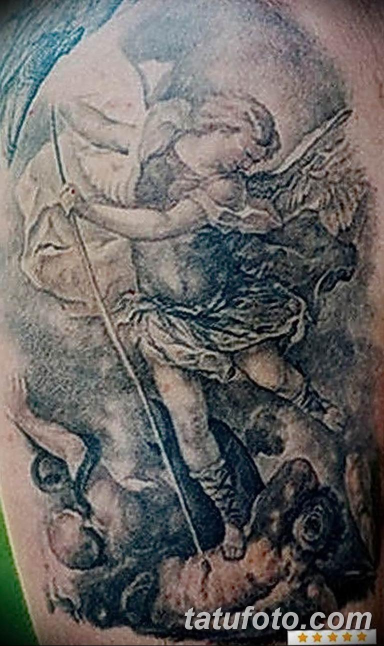 Фото тату икона святого 29.06.2019 №047 - tattoo icon of saint - tatufoto.com