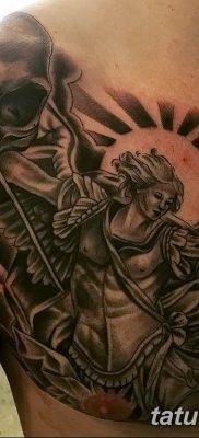 Фото тату икона святого 29.06.2019 №048 – tattoo icon of saint – tatufoto.com