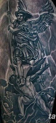 Фото тату икона святого 29.06.2019 №049 – tattoo icon of saint – tatufoto.com