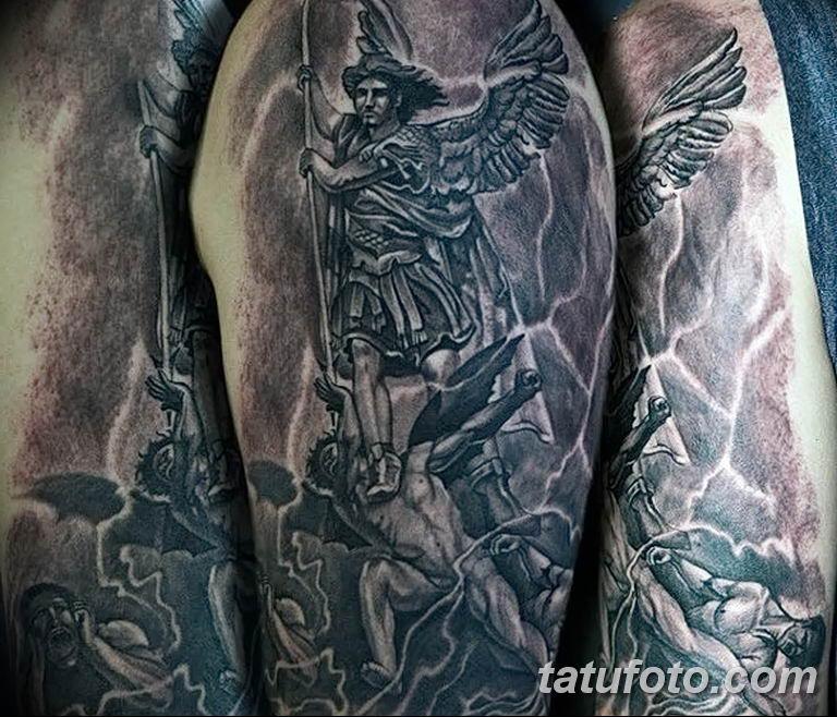 Фото тату икона святого 29.06.2019 №049 - tattoo icon of saint - tatufoto.com