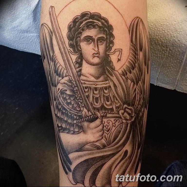 Фото тату икона святого 29.06.2019 №051 - tattoo icon of saint - tatufoto.com